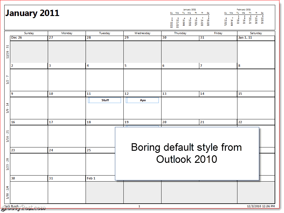 Outlook calendars to print search results new calendar for Calendar printing assistant templates