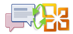 Facebook Messages and Office.com