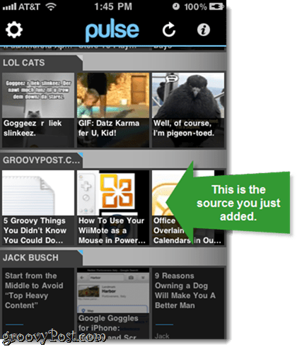 Add Google Reader Sources to Pulse