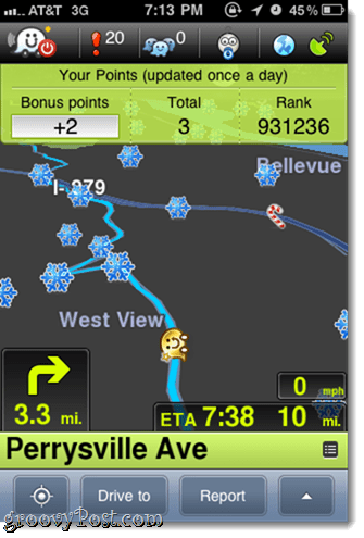 Waze - Free Social GPS w/ Turn by Turn Directions