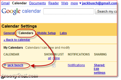 Sync Google Calendar to Outlook 2010`