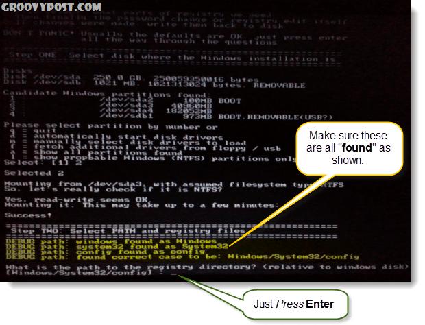 check for proper debug path