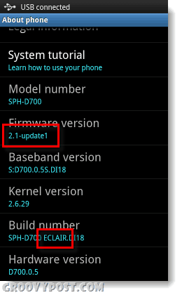 check what version of android you are running