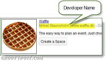 google spaces devleoper