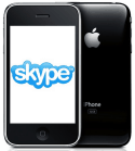 Skype video calls on iphone
