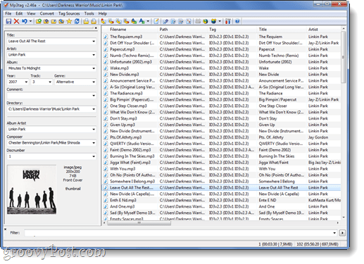 mp3 tag id3 tag editor