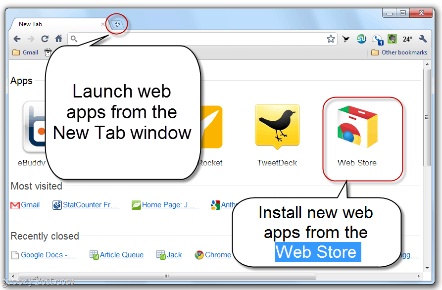 What is the Google Chrome Web Store?