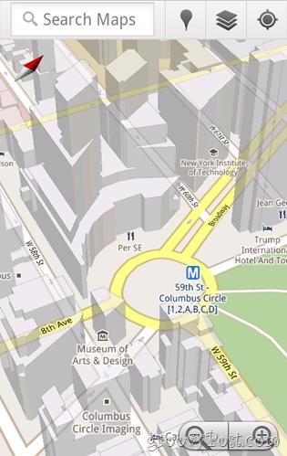 Google Maps Mobile 5