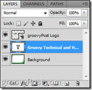Photoshop Image Layer Panel