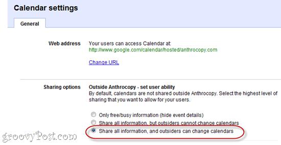 Show Private Address Url Google Apps Calendar