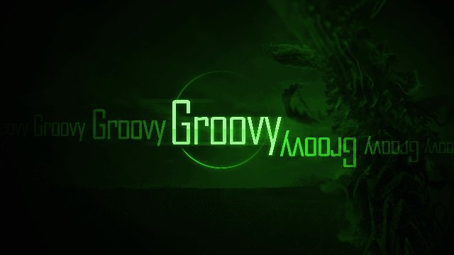 very groovy green wallpaper edit example tutorial