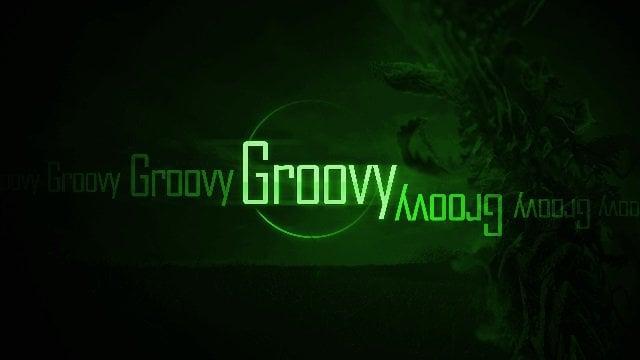 very groovy green wallpaper edit example tutorial