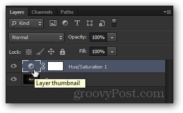 thumbnail double click adjustment layer
