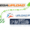 Megaupload vs. Uploading.com vs. Refile: Paid to upload review
