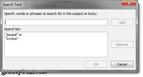 Outlook 2010 Search Folders