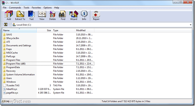 Create Offline Installers using a WinRAR Self-extracting Archive