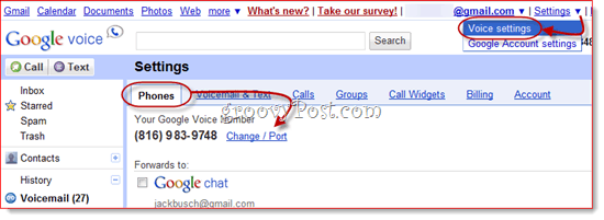 google voice number portability