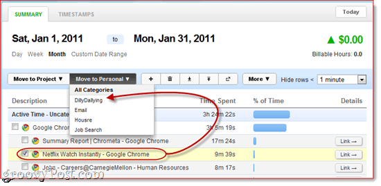 Chrometa Review: Time Management and Activity Monitoring