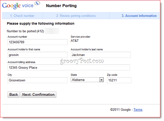 Port Your Home Number To Google Voice