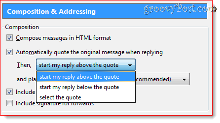 Reply Above Quote in Thunderbird