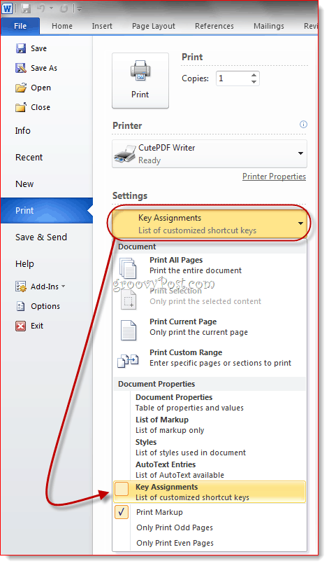 Work with the computer mouse button to be able to give or do away with your pc style keyboard shortcut