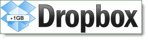 dropbox 1gb space bonus