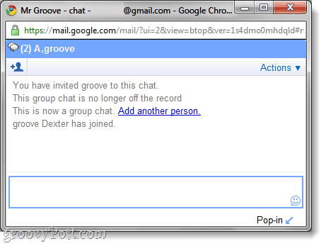 group chat in gmail chat