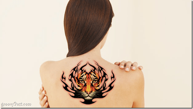 use photoshop to add tattoo to photo