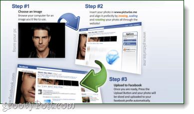 picturize.me facebook silverlight profile editor