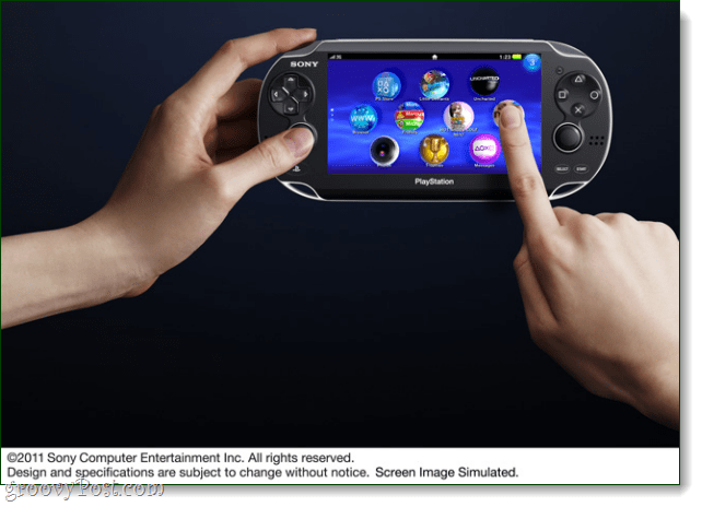 sony psp2 touch screen