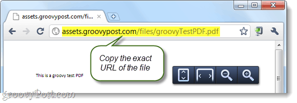 copy the exact URL of the file you want to upload to Google Docs