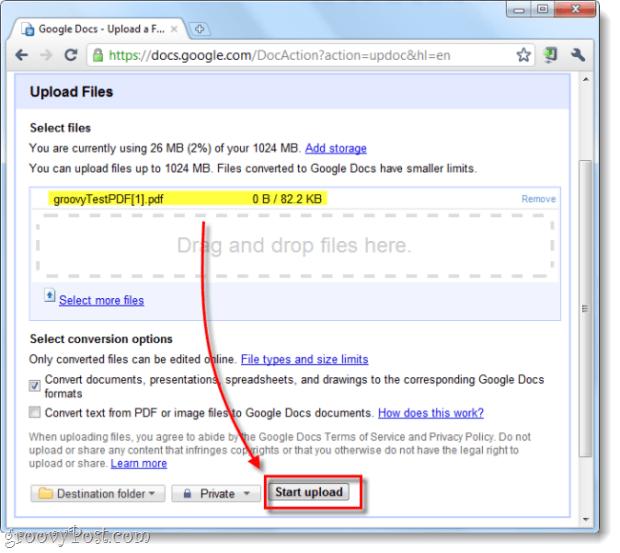 upload a url file to google docs