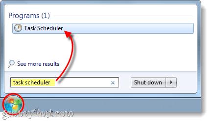 open task scheduler in windows 7