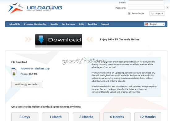 Uploading.com review