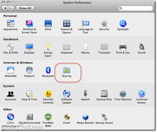 Sharing Files and Folders OS X - Windows 7