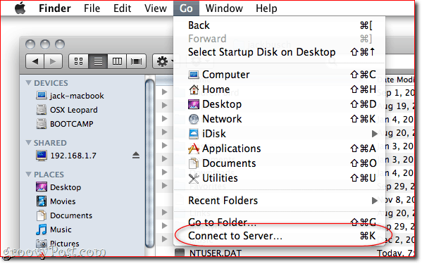 How To Share Files and Folders between OS X and Windows 7