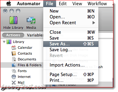 How to Create Multi-Page PDF Files in MAC OS X with Automator