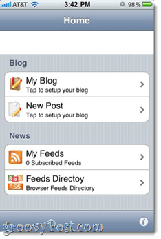 BlogWriter - Iphone App Review