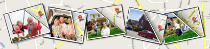 Geotag data is stored in pictures and allows other people, websites, and programs to find the location your photo was taken