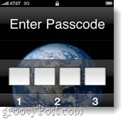 iphone password lock