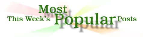 groovyposts most popular posts of the week