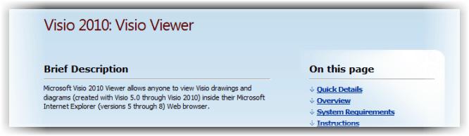 Visio 2010 Viewer