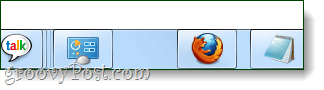 a new space on the windows 7 taskbar