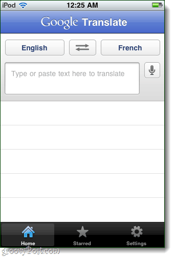 google translate app