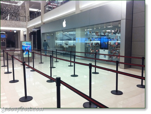 verizon iphone, empty lines