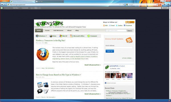 firefox 4 new user interface and speed