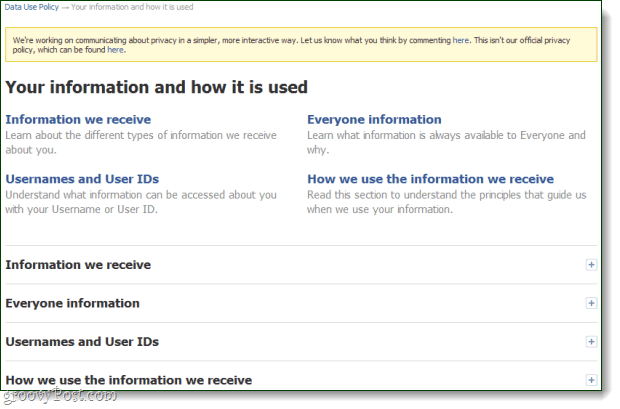 Facebook Rewrites Its Privacy Policy In Non-Technical ...