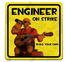 Engineers on strike, make your own motors