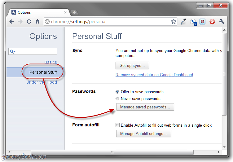 How to Look Up or Back Up Google Chrome Saved Passwords [No Longer