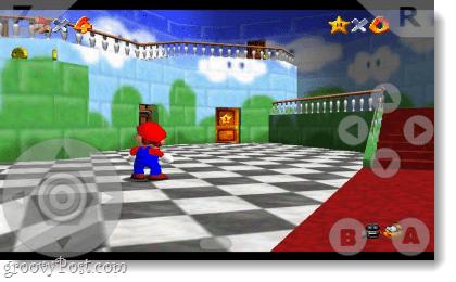 N64oid runs mario 64